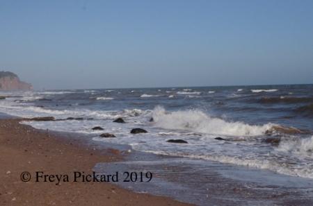 Foaming Wave photograph by Freya Pickard