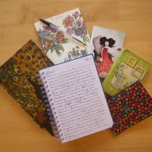 Notebooks of poetry and stories